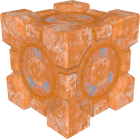 A Weighted Storage Cube covered in Propulsion Gel.  sc 1 st  Portal Wiki & Cubes - Portal Wiki