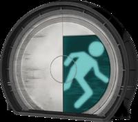 A Test Chamber door