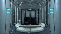 The Chamberlock as it appears in Portal.
