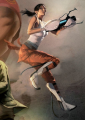 Full Zoom of Chell on the Cover of The Sacrifice.png