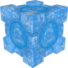 A Weighted Storage Cube covered in Repulsion Gel.  sc 1 st  Portal Wiki & Cubes - Portal Wiki