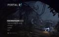 Portal 2 main menu.png