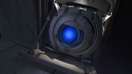 Wheatley, as he appeared in the E3 2010 trailer.