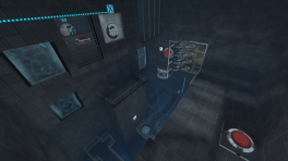 Portal 2 Sixense MotionPack DLC Co-op Test Chamber 1.png