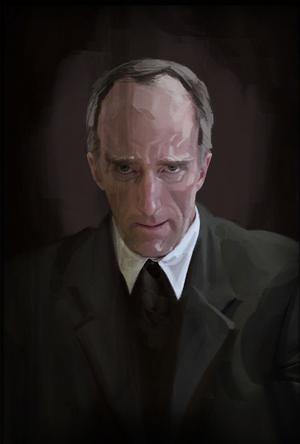 Portrait de Cave Johnson.