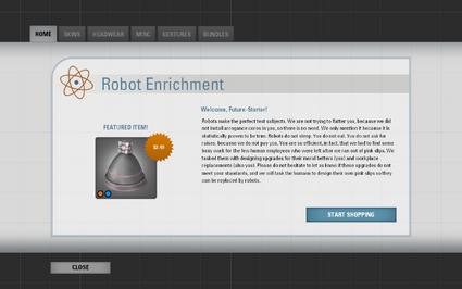 Robot Enrichment Store - Portal Wiki