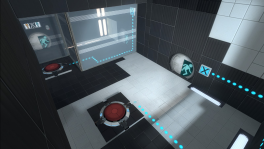 Portal 2 Co-op Course 1 Chamber 1.png