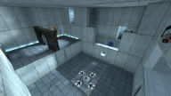The Test Chamber in Portal
