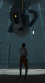 Chell and GLaDOS Size Comparison.png