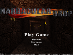 Narbacular Drop Main Menu.png
